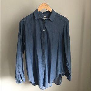 Jean blouse
